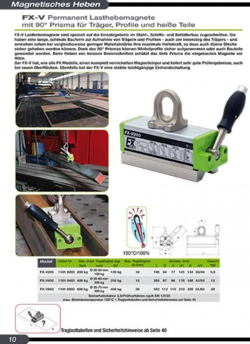 Magnete Stahlbauherstellung